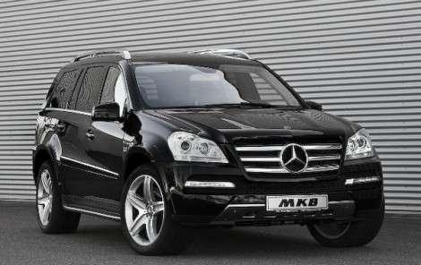 Тюнинг-ателье MKB выпускает Mercedes GL с 12 цилиндрами