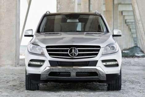 Mercedes MLC – конкурент BMW X6