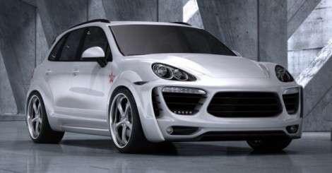 Еще один тюнинг Porsche Cayene от российских мастеров