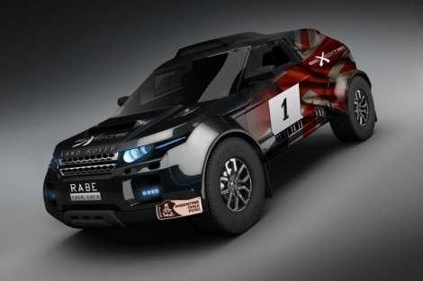 Range Rover Evoque готовится к «Дакаур»