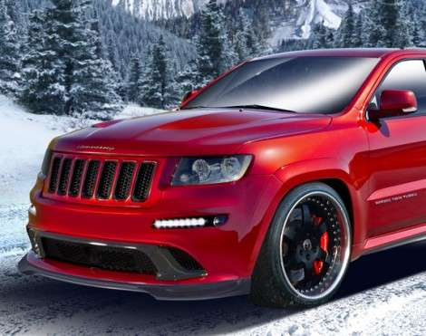 Мощный Jeep Grand Cherokee SRT8 стал еще мощнее