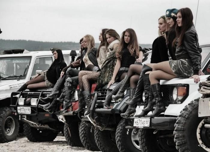 женщины на авто