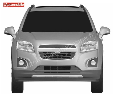 chevrolet encore patent drawings