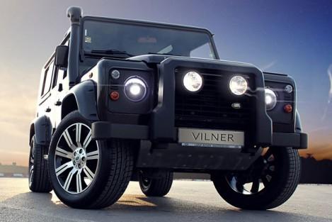Land Rover Defender с тюнингом от студии Vilner