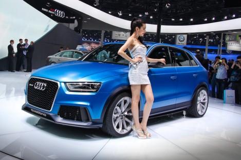 Audi сделала «паркетник» для экстремальных девчонок