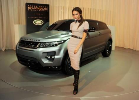 Виктория Бекхэм Range Rover Evoque