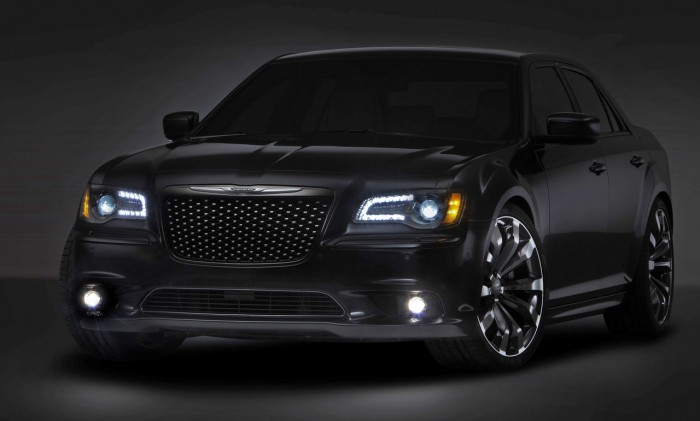 A Chrysler 300C design concept to be unveiled at the 2012 Beijin