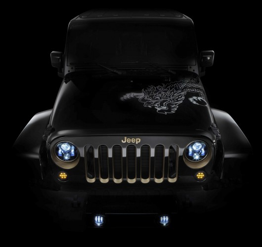 A Jeep Wrangler design concept will celebrate the Year of the Dr