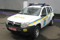 Renault Duster милицейская