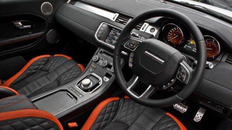 Range Rover Evoque Vesuvius