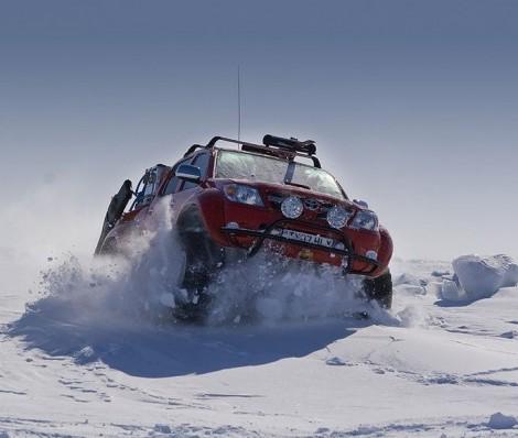 В Красноярске Arctic Trucks