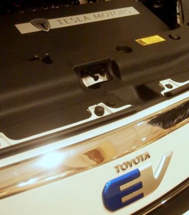 Toyota + Tesla = RAV4 EV