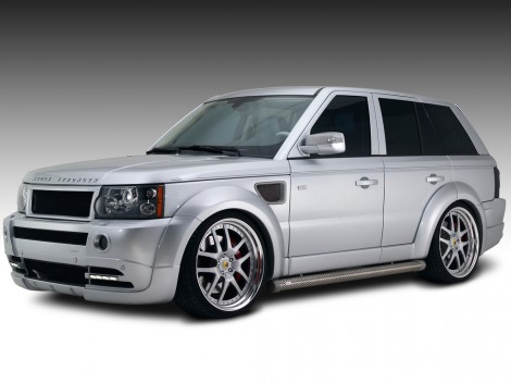Обновлённый Range Rover Sport