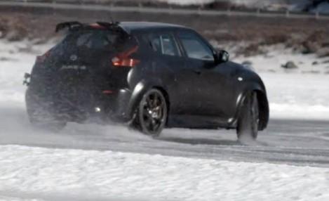 Nissan Juke-R покоряет заснеженную Норвегию