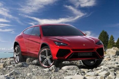 Lamborghini показала Urus