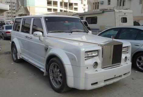 Nissan Patrol в прикиде от Rolls-Royce