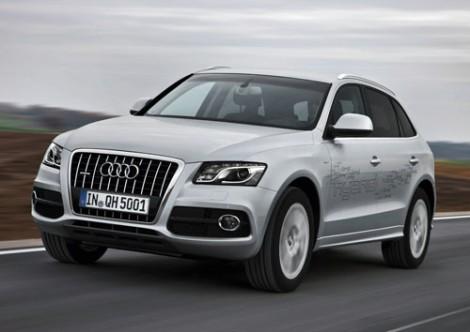 Audi Q5 hybrid quattro /Fahraufnahme