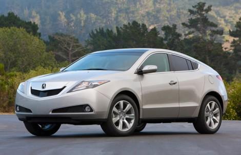 Acura займётся усовершенствованием кроссовера ZDX