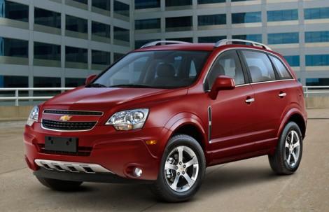 Отзыв Chevrolet Captiva 2012