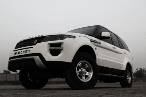 Tata Safari в стилистике Range Rover Evoque
