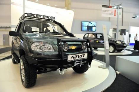 Эксклюзивный тюнинг Chevrolet Niva