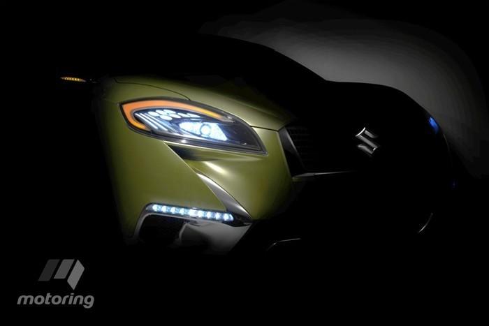 Глазки нового Suzuki SX4