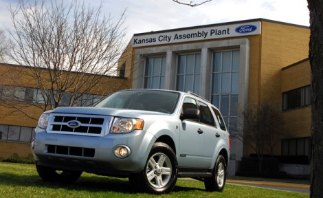 2008 Ford Escape at Kansas City Assembly Plant