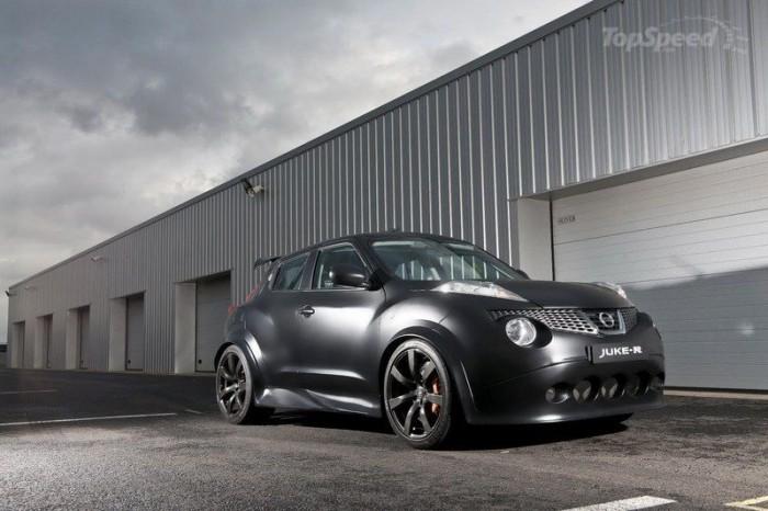 Ограниченный выпуск Nissan Juke-R