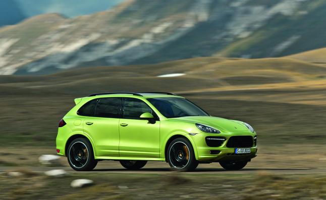 Porsche Cayenne e-Hybrid появится в 2014