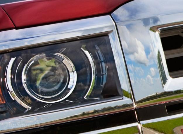 Серьёзный соперник - Chevrolet Silverado Pickup