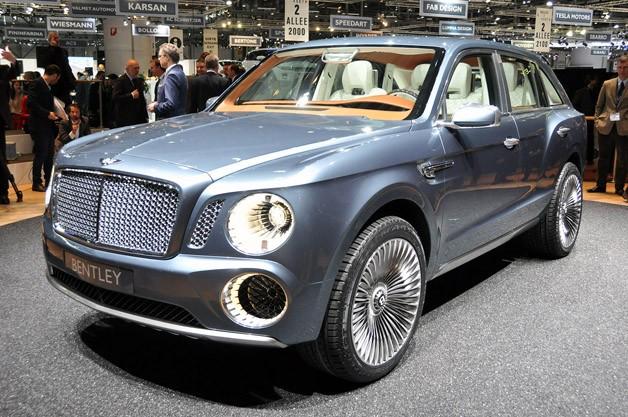 Bentley EXP 9 F подвергнут редизайну