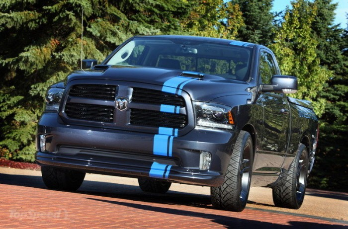 Dodge RAM 1500 в исполнении Urban