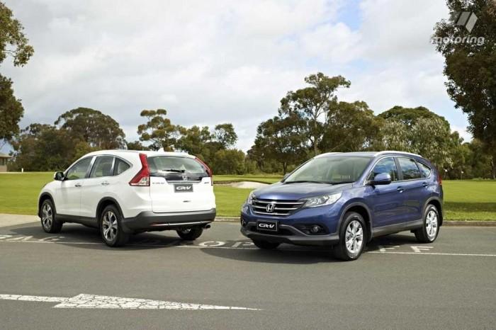 Обновленный Honda CR-V отходит от традиций