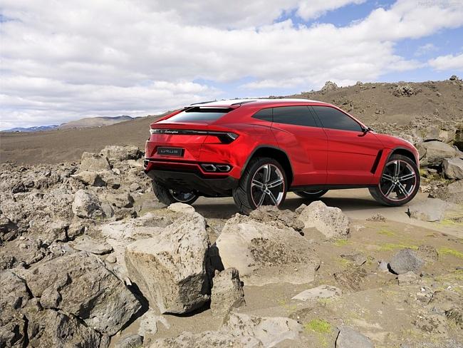 Lamborghini Urus появится не раньше 2017 года