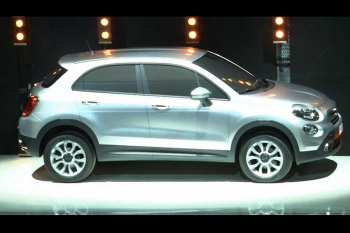 Fiat аннонсировал кроссовер 500X