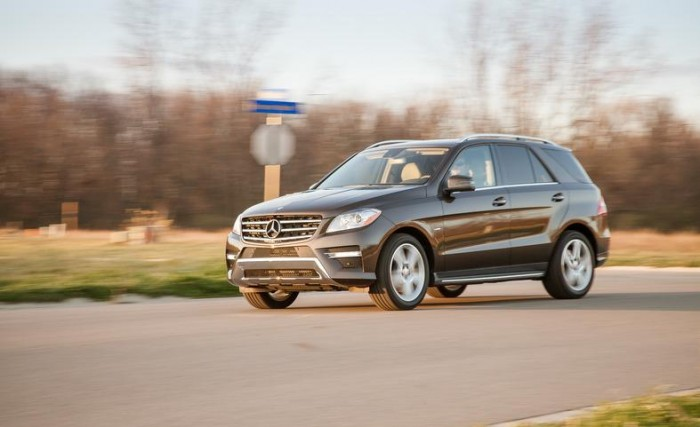 Обзор Mercedes-Benz ML550 4Matic