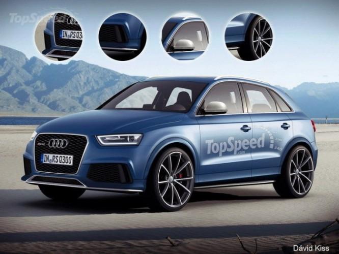 Концепт Audi Q3 RS