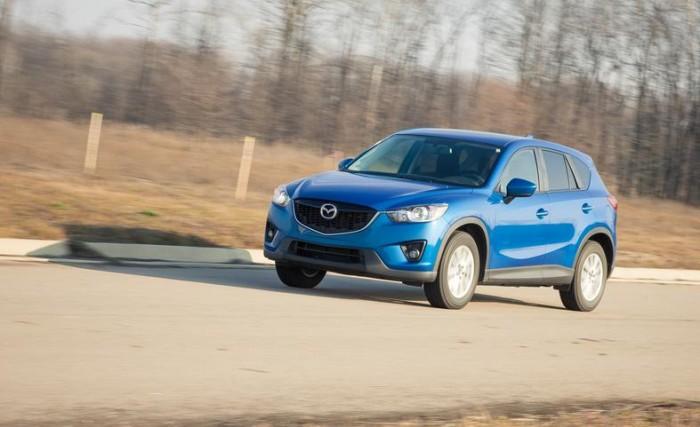 Ездовые испытания Mazda CX-5 Touring AWD