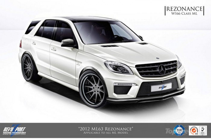 Mercedes ML63 AMG от агентства RevoZport