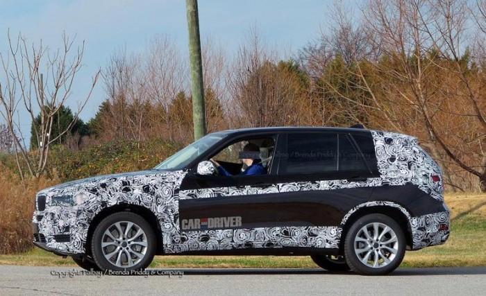 Секретные фотографии 2014 BMW X5