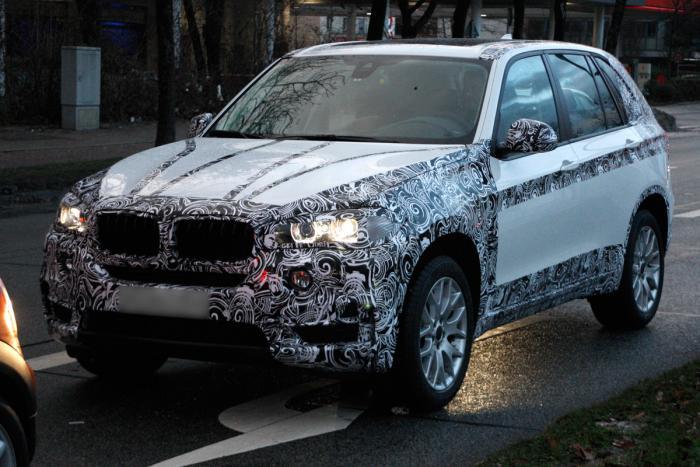 BMW X5 всё более открытый