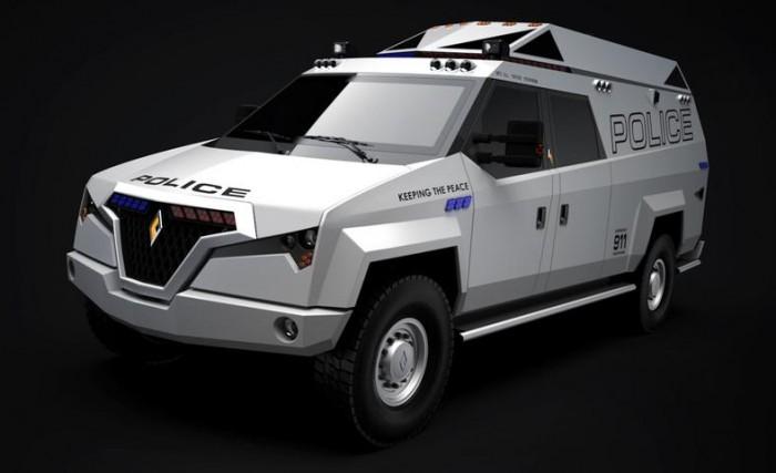 Новый полицейский внедорожник TX7