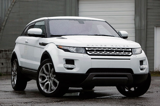 Land Rover отзывает внедорожники Evoque и LR2