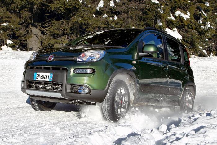Озвучена стоимость Fiat Panda 4x4