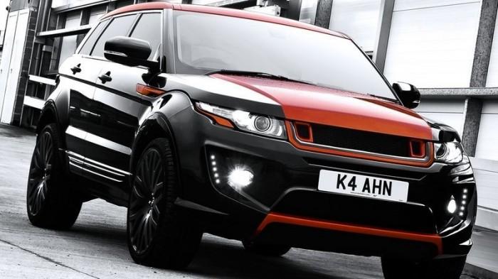 Тюнинг Range Rover от агентства Kahn Design