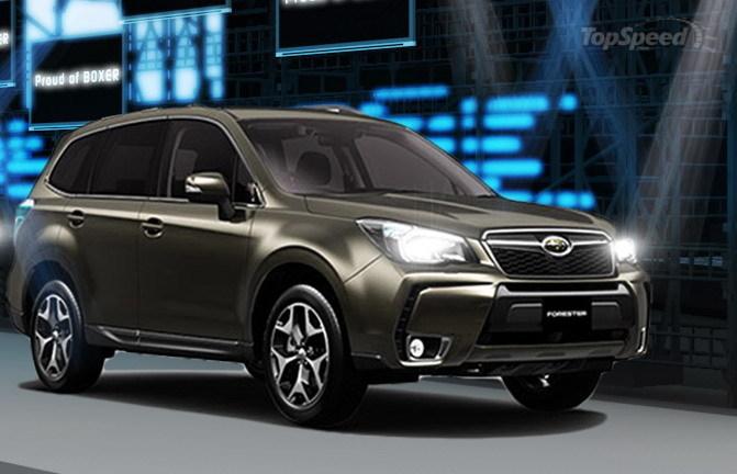 Концепт спортивного Subaru Forester