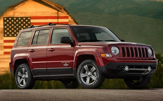 Jeep Patriot и Compass получат АКПП