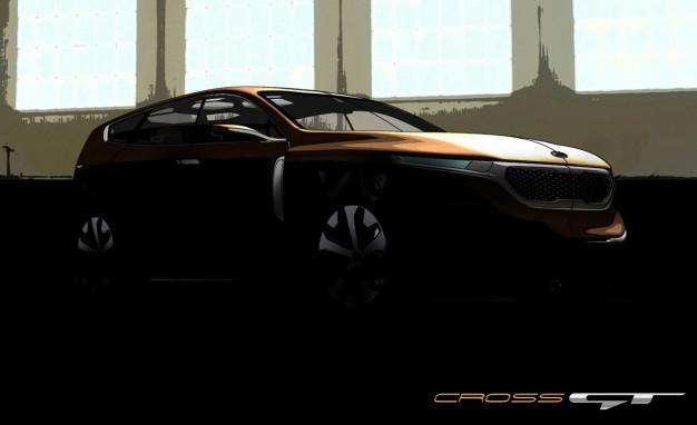 Kia представит концепт второго кроссовера