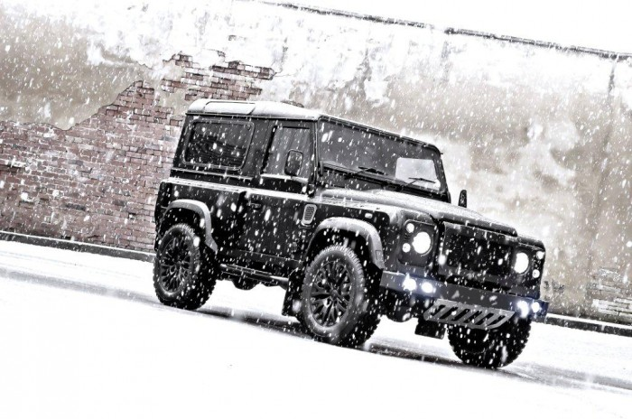 Land Rover Defender Winter Edition от тюнинг ателье Kahn