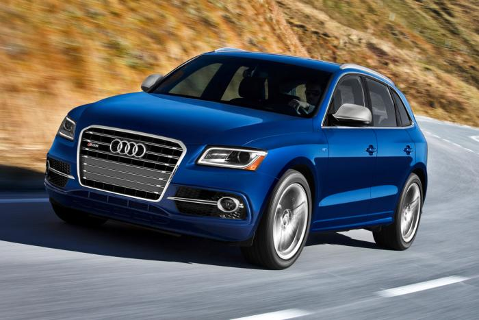 Представлен мощный Audi SQ5